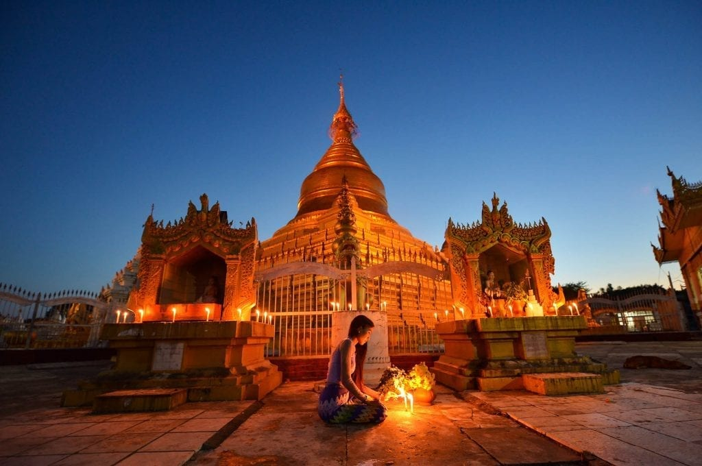 culture & historyKuthodaw Pagoda , treaditional culture myanmar,Mandalay Myanmar