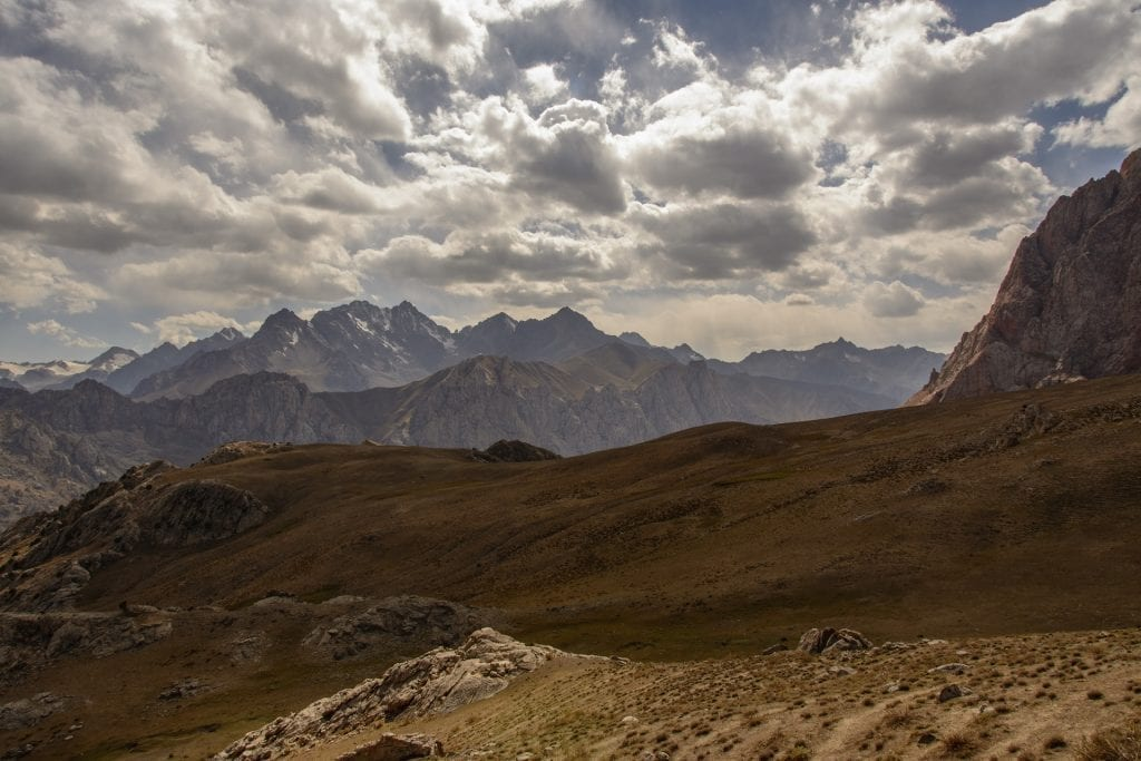 safe trekking in Tajikistan Fann mountains