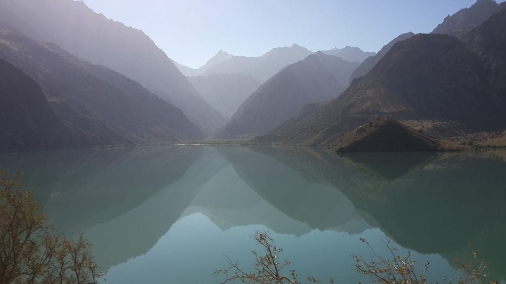 Iskanderkul Lake - trekking in Tajikistan Fann mountains