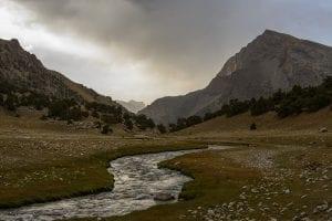Trekking in Tajikistan fann mountains