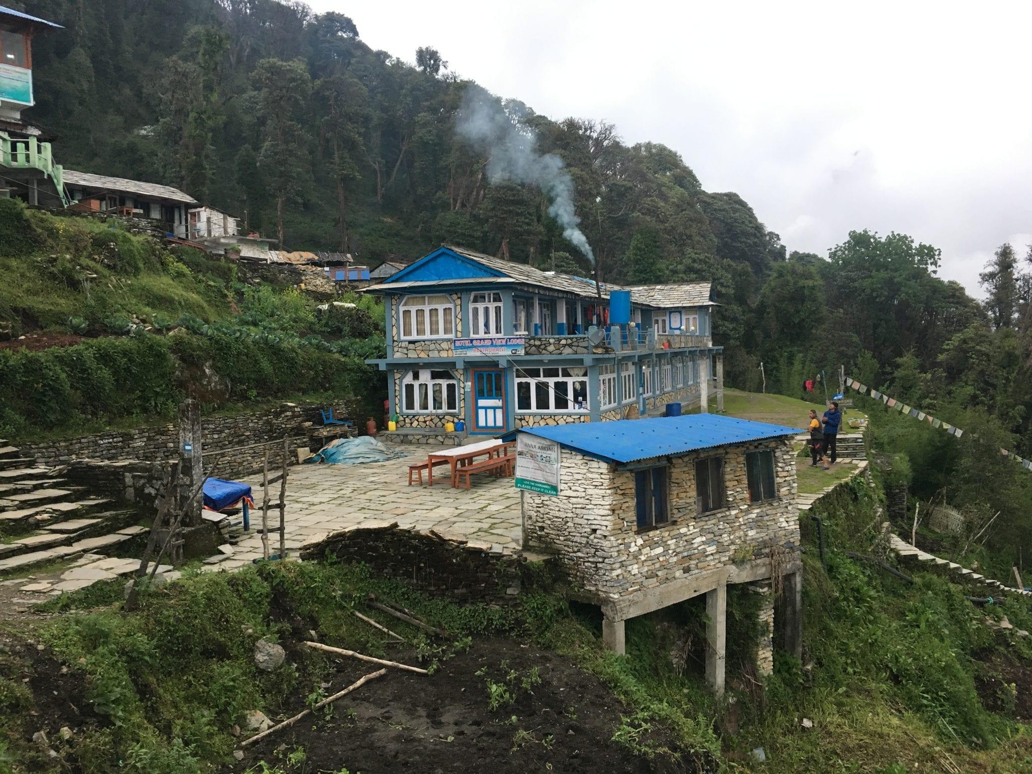 short treks nepal