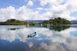 Nakama Creek in Savusavu in Vanua Levu Island, Fiji