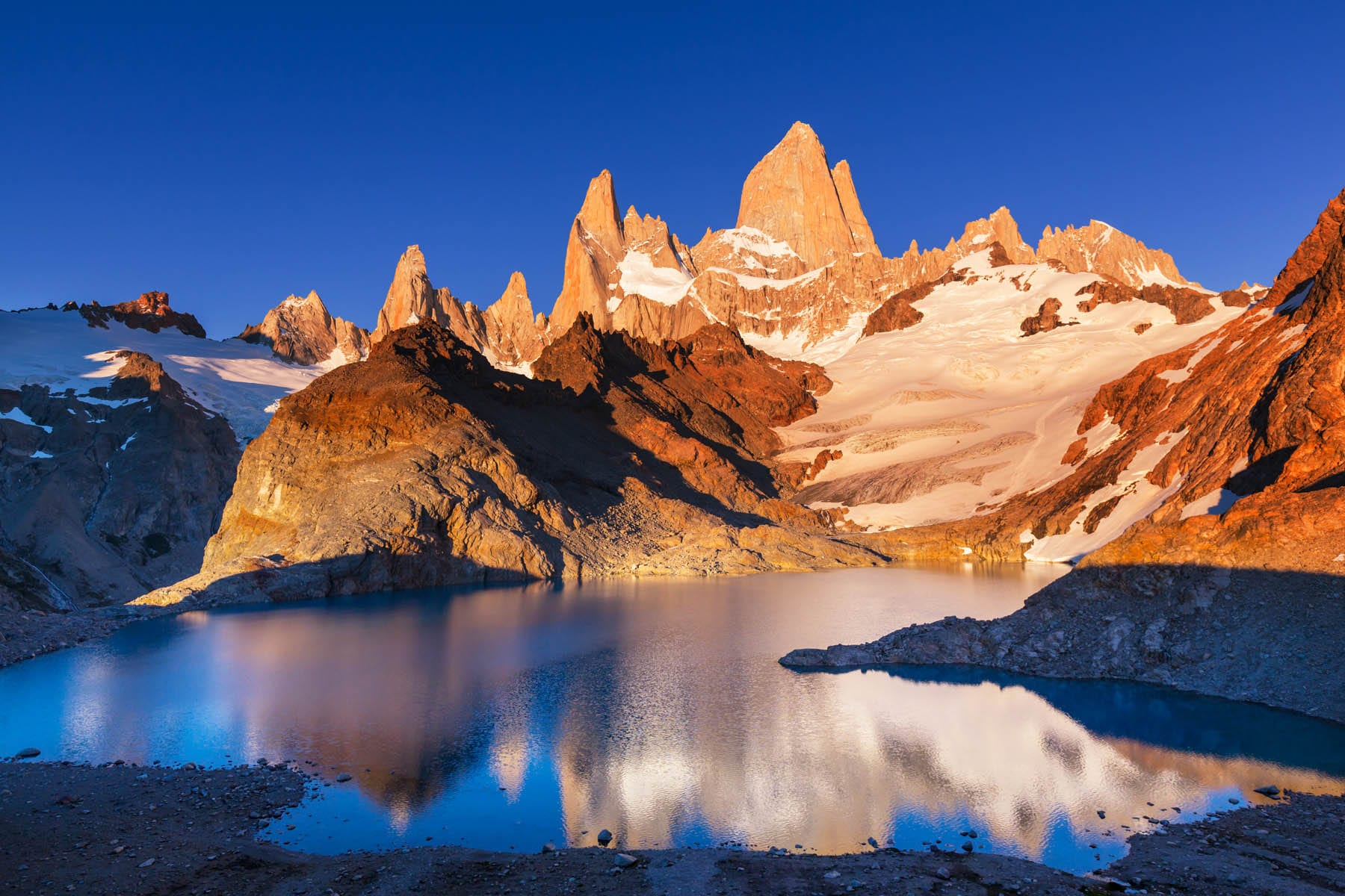 Mount Fitzroy in Patagonia