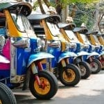 Follow Travel Begins at 40 on a Tuk Tuk in Northern Thailand