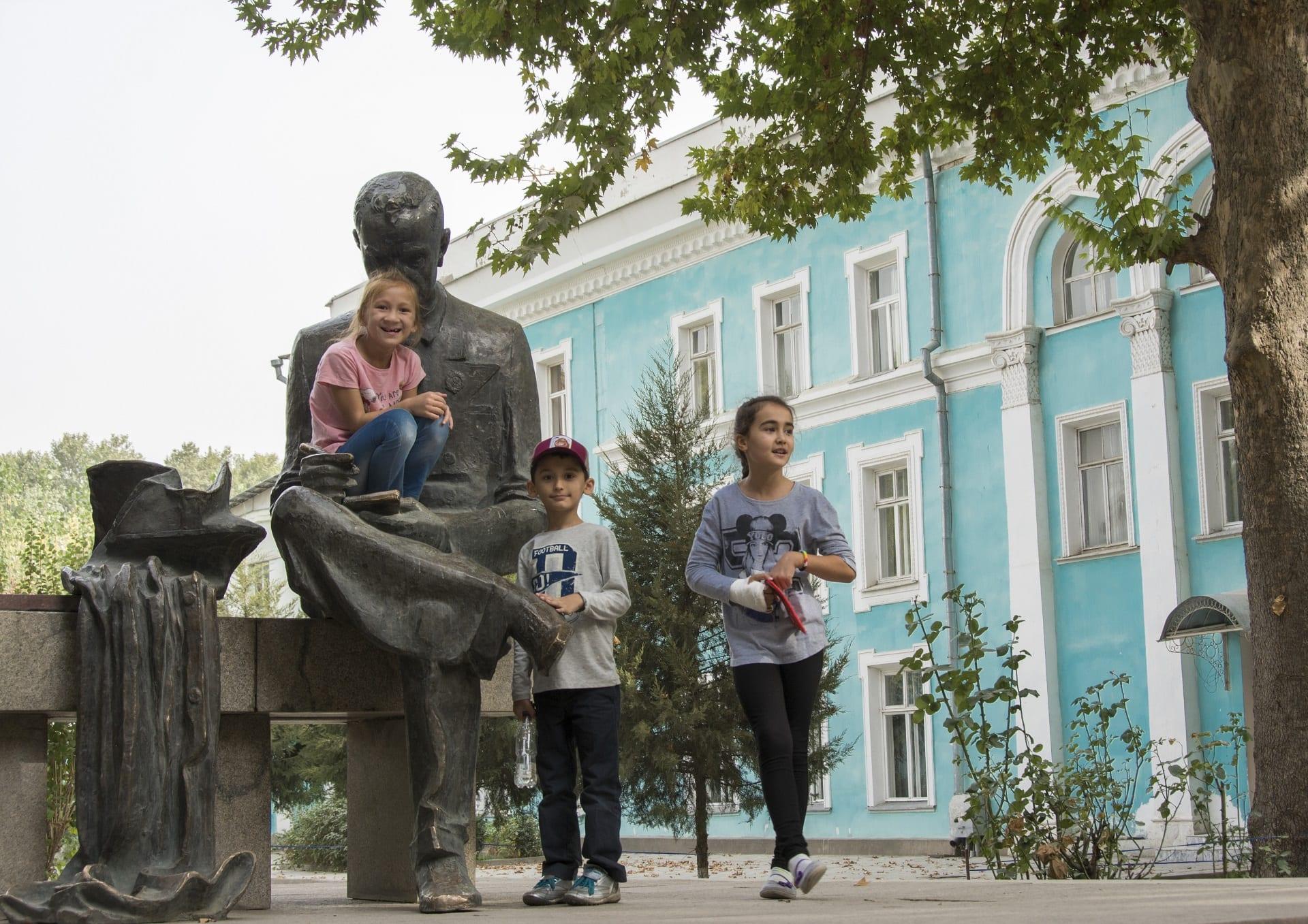 Tajikistan travel children