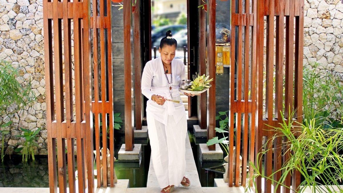 Meet High Priestess, Ibu Jero, at Anantara Uluwatu Bali Resort