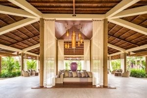 Spa reception area at Fusion Resort Phu Quoc