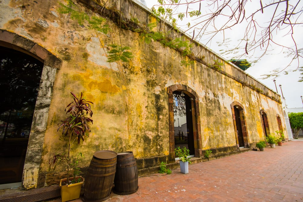 An old Jail in Panama City old town