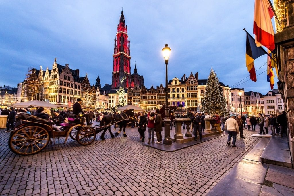 Antwerp winter festivals