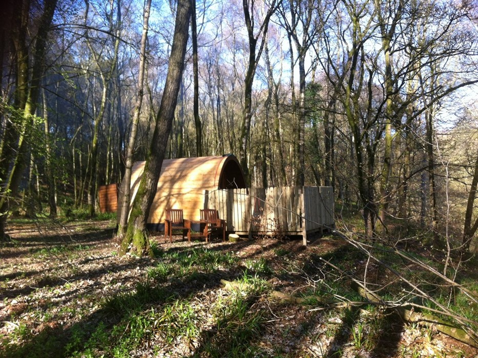 Broomhills Farm River Eco Pods