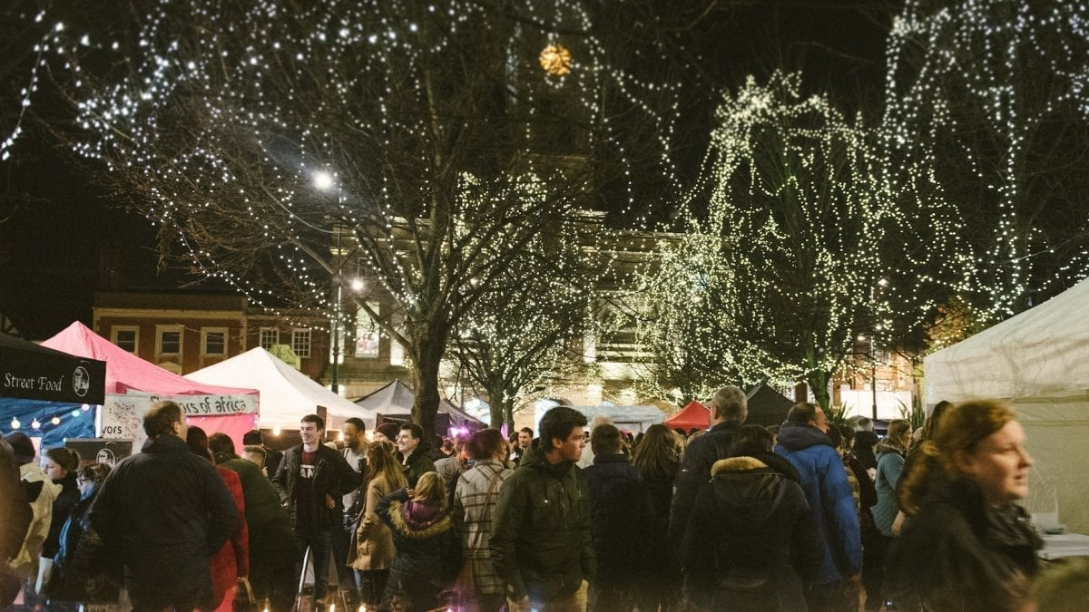 Derby Christmas Night Market
