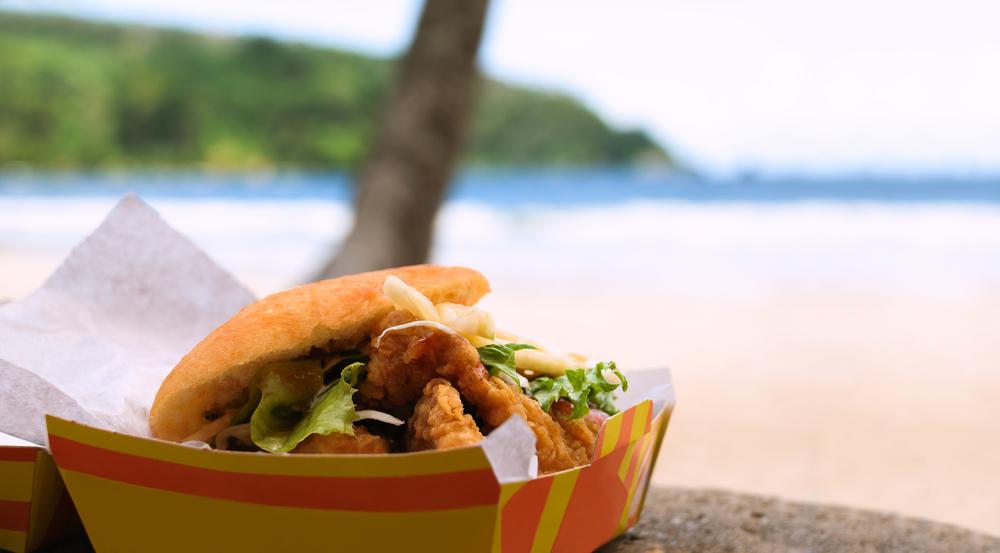 Caribbean Getaway - food