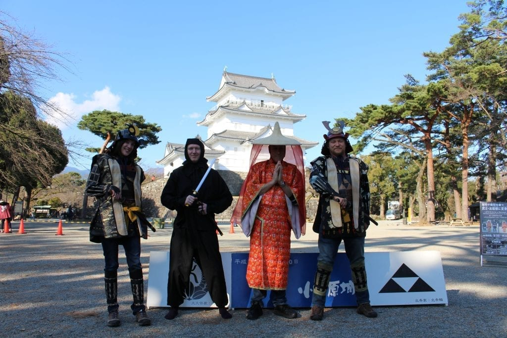 Japan travel samurai