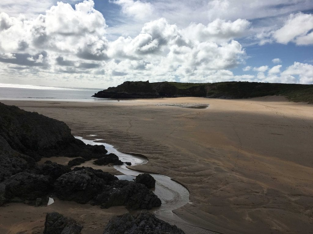 The second best beach along the Pembrokeshire Coast Path? Broad Haven Sands