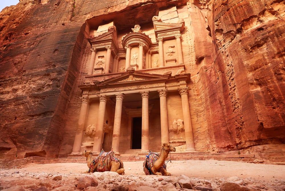 The wonderful site of Petra in Jordan