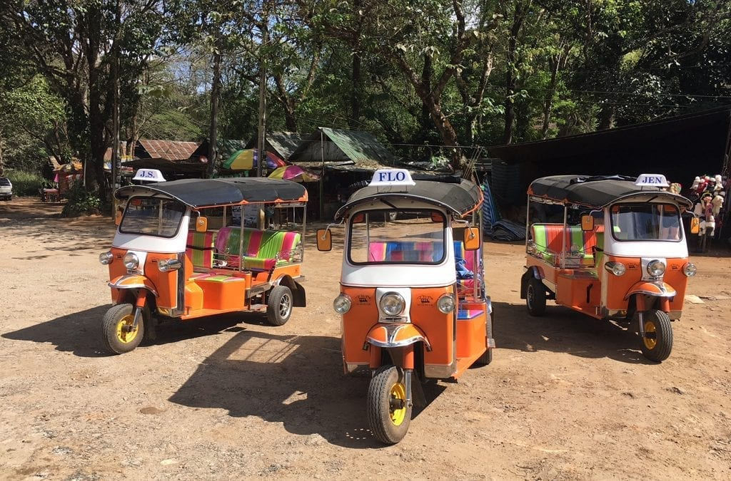 Tuk Tuk Travels with Jen and Friends