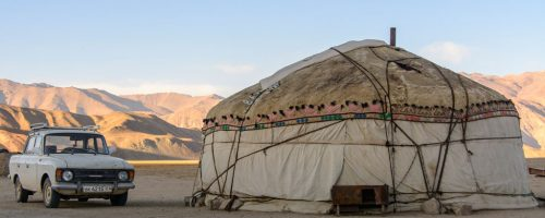 Yurt, Silk Road travel, Tajikistan