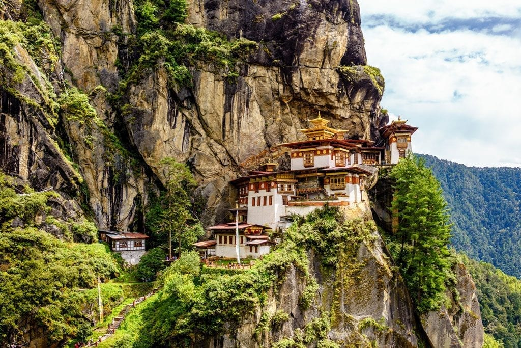 Druk Path TrekParo Taktsang which is locally known as Tiger's Nest Temple