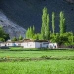 Traditional Pamir house wakhan valley