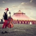Roll-up, Roll-up, for the 250th Anniversary of the Modern Circus