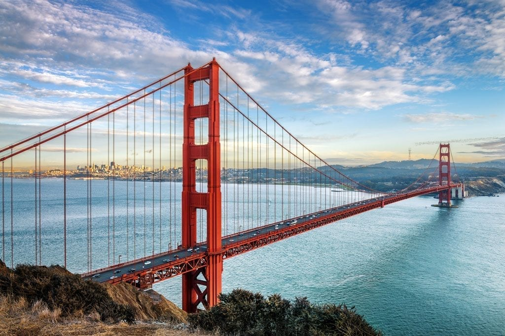 You can't visit San Francisco without a trip to the Golden Gate Bridge