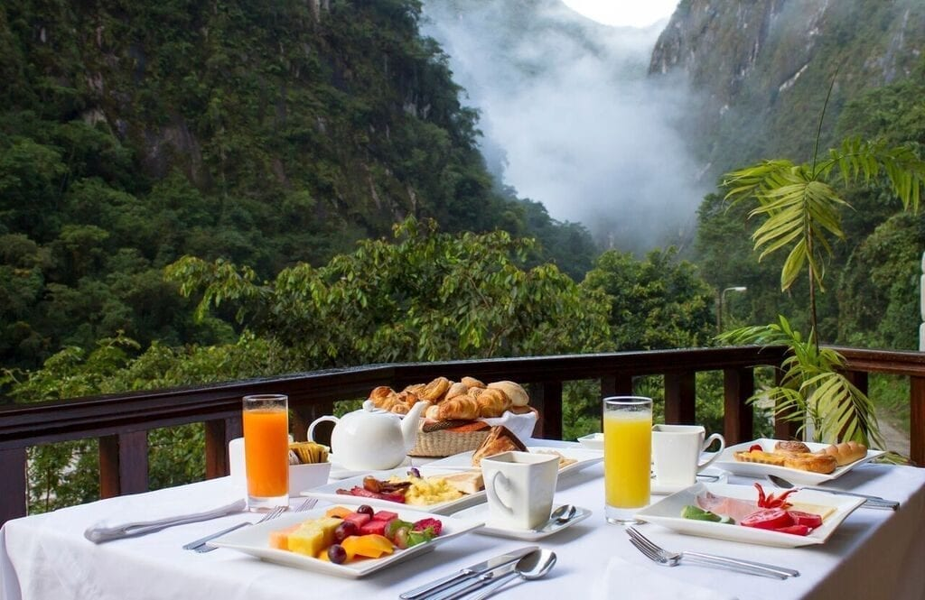 Qunuq restaurant Machu Picchu