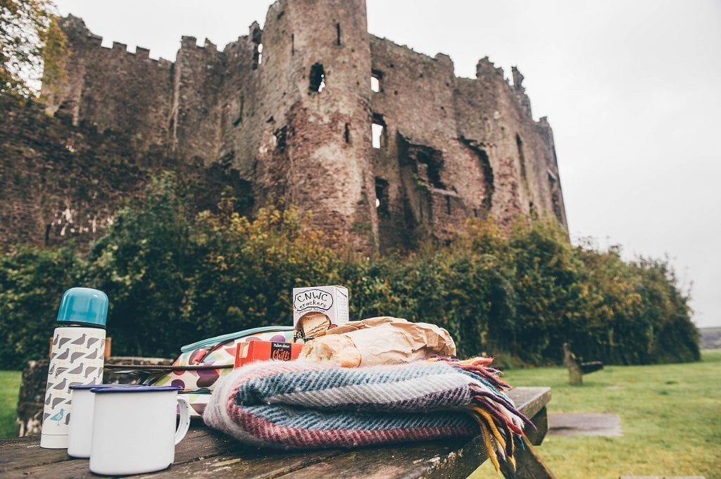 Carmarthenshire Winter Picnics - Laugarne Castle