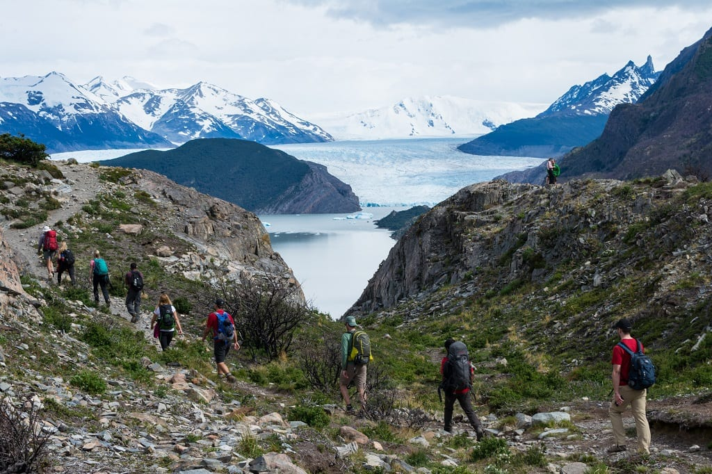 Hiking in Patagonia - Chile