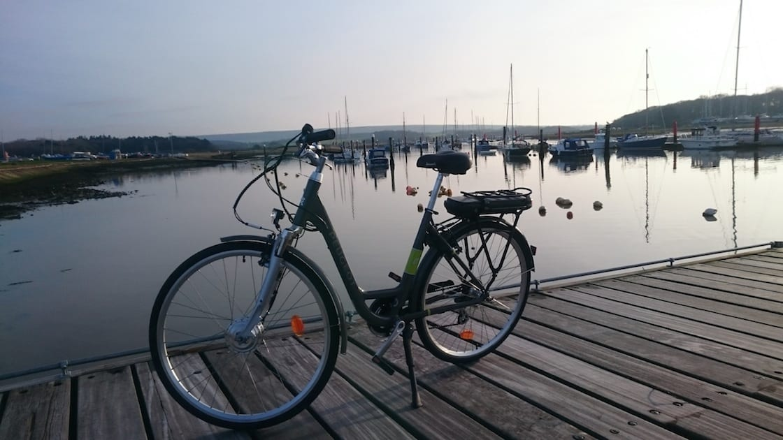 See the Isle of Wight by Electric Bike