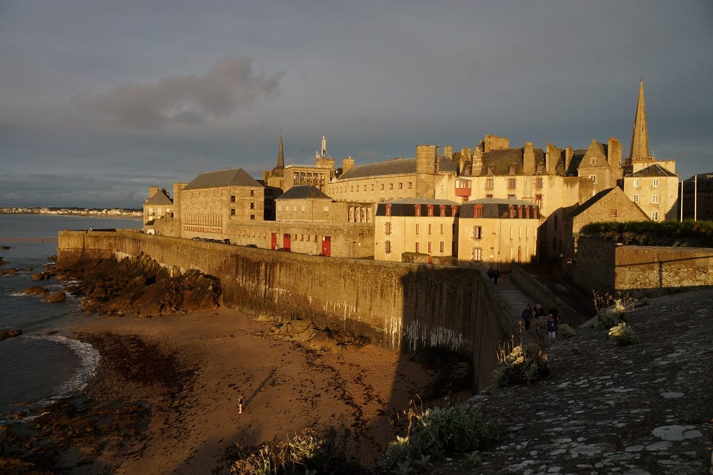 Painting in Saint Malo