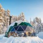 Aurora Domes Opens Window to Lapland