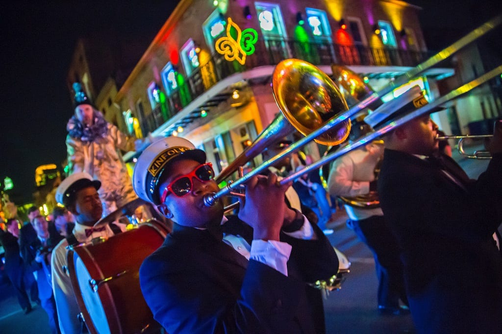 Jazz Brass Band in New Orleans - © Todd Coleman