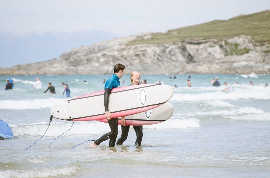 Pentire Launches Learn to Surf in Cornwall