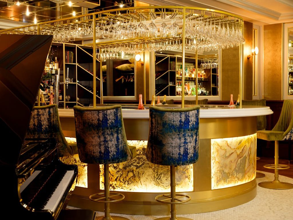 The new champagne bar at The Chester Grosvenor