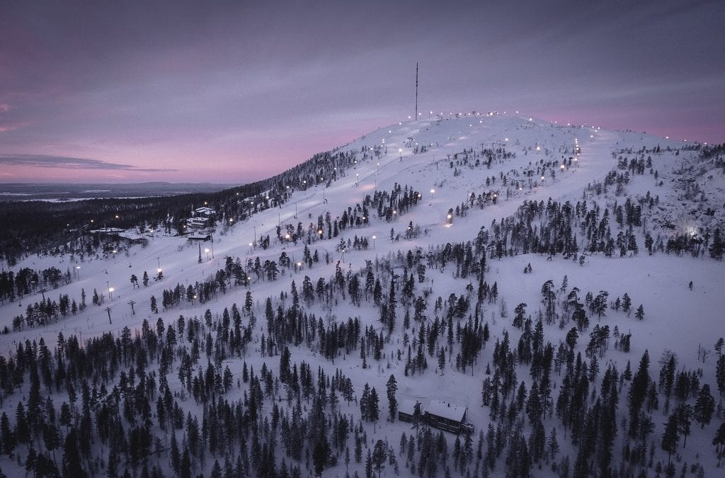 Escape Room on Skis in Lapland