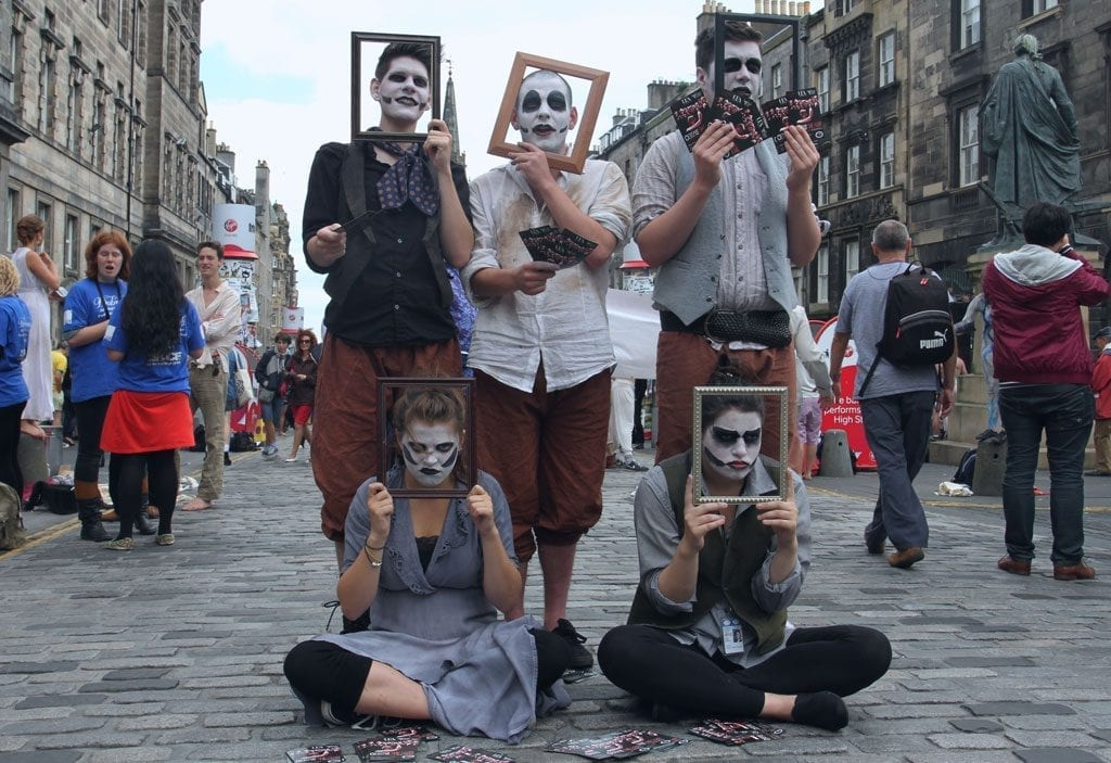 Edinburgh festivals in august