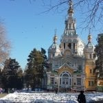 Zhenkov Cathedral in winter