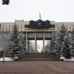The Army House, home to the Museum of the Great Patriotic War