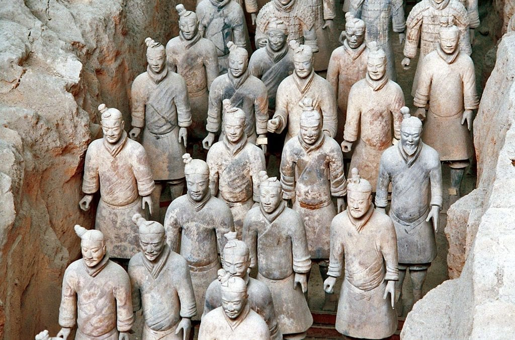 See Terracotta Warriors with One Traveller