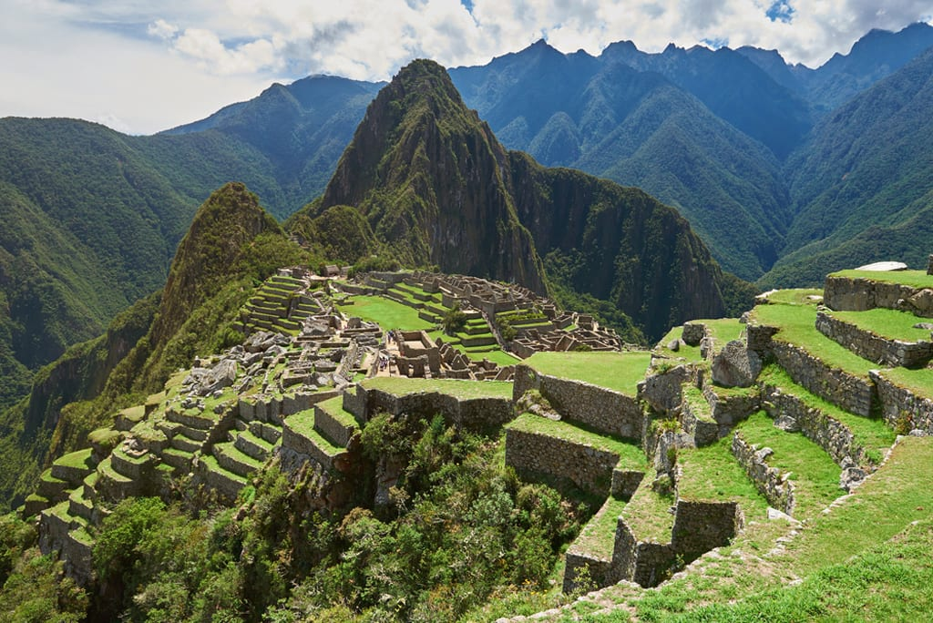 Lord of Miracles Machu Picchu Peru