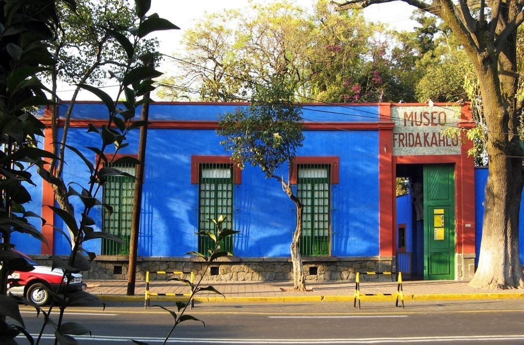 Visit the Home of Frida Kahlo in Mexico
