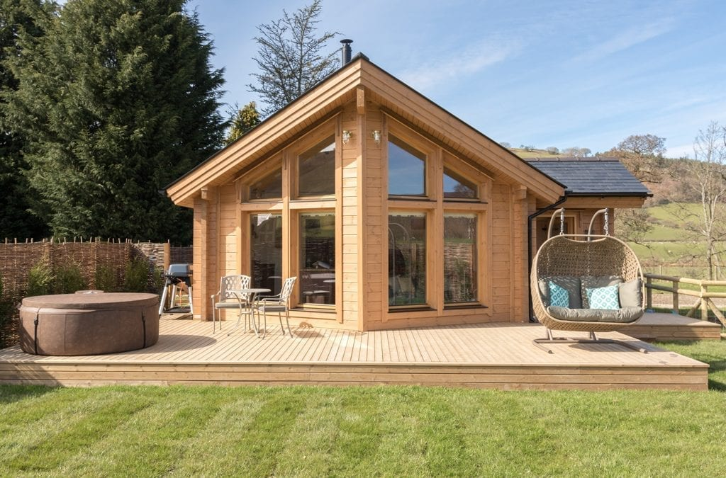 New Scandi Log Cabins Opens in Snowdonia