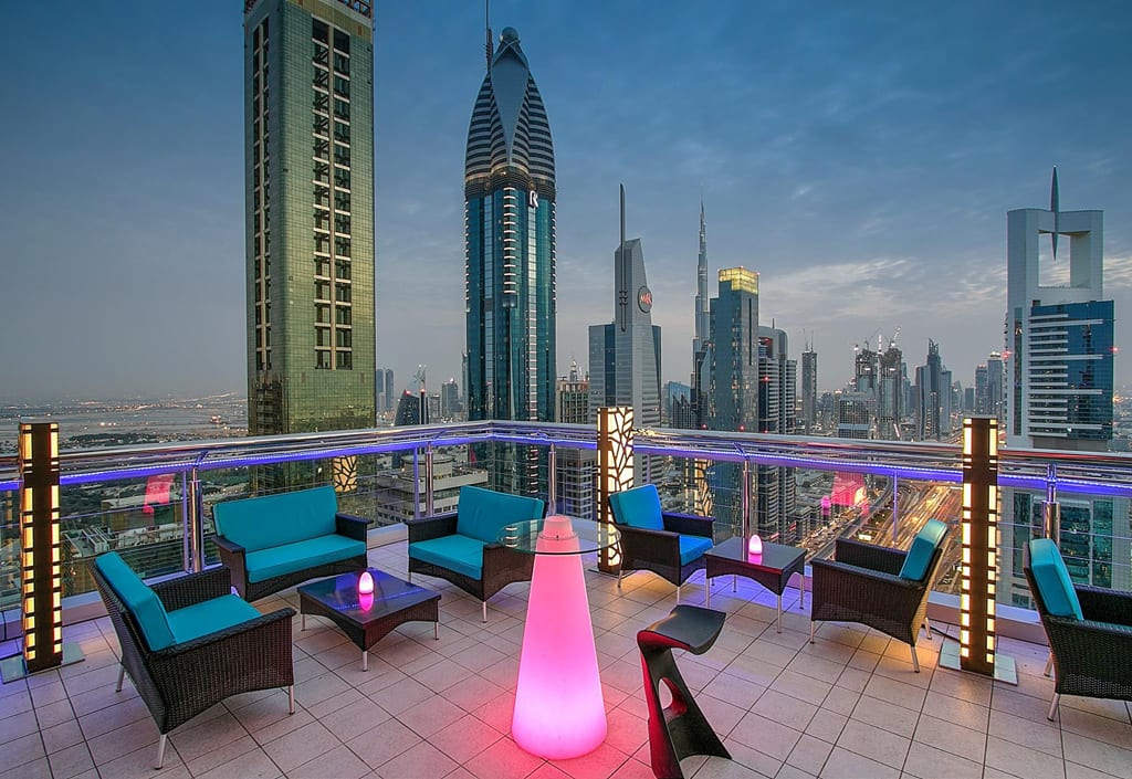 hotel rooftop bars