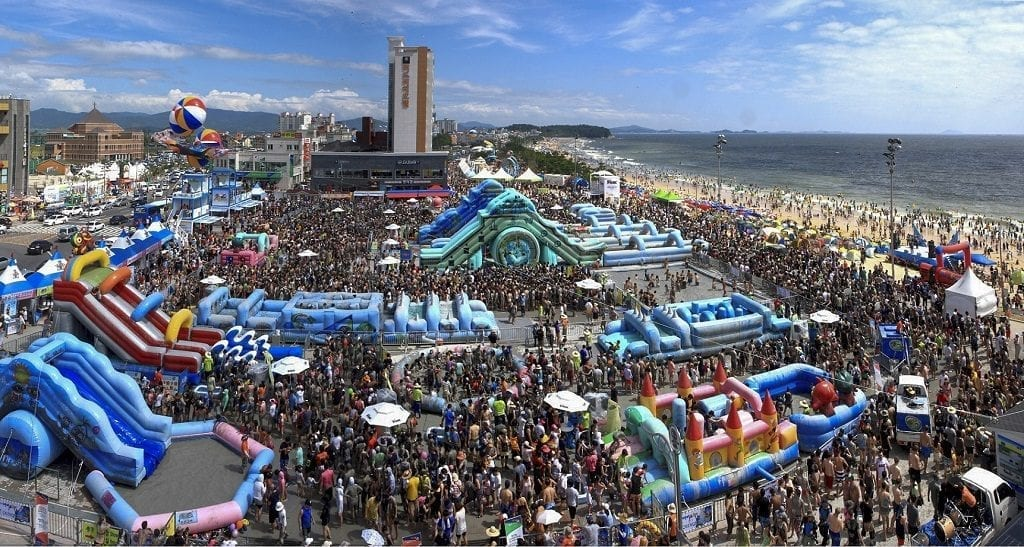 Boryeong Mud Festival 2019, South Korea | Travel Begins at 40