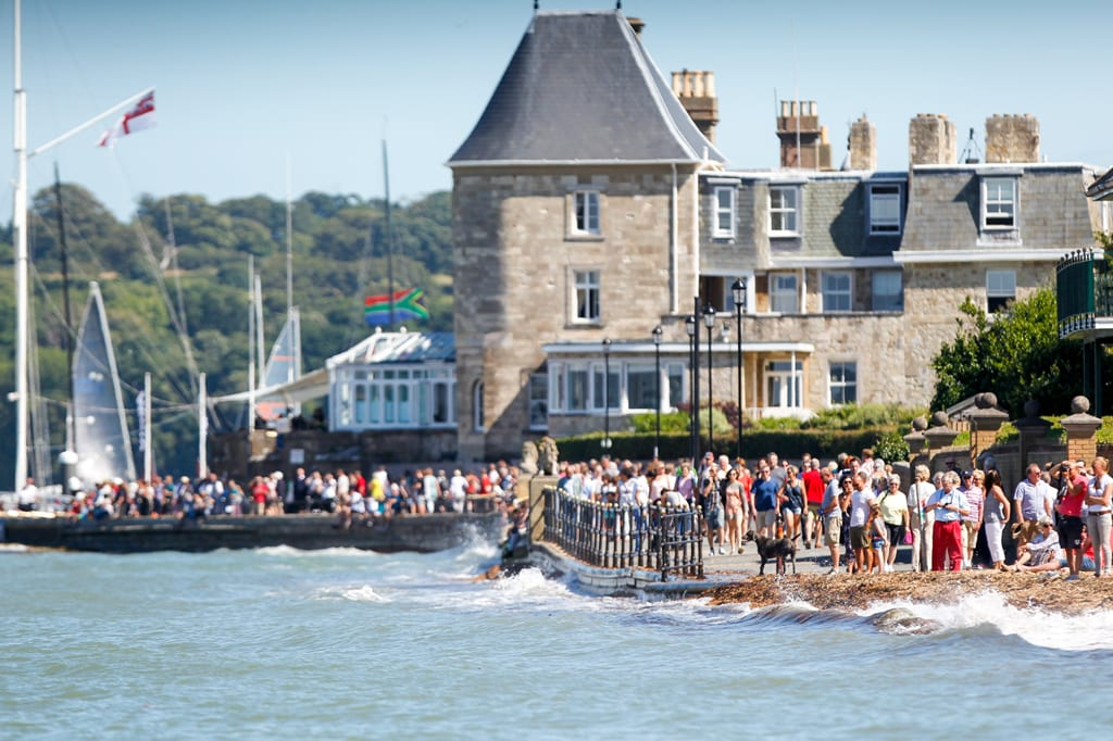 Cowes week, the largest regatta of its type in the world, c. Paul Wyeth