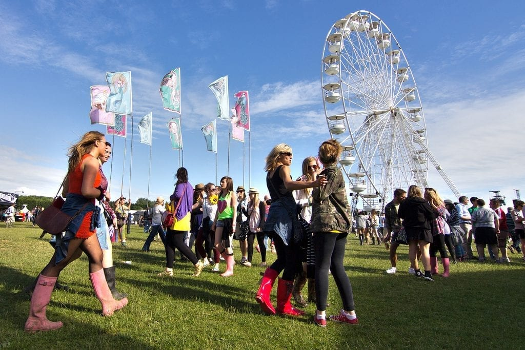 Isle of Wight Festival festivals in the UK