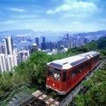 Hong Kong's Peak Tram Celebrates Anniversary