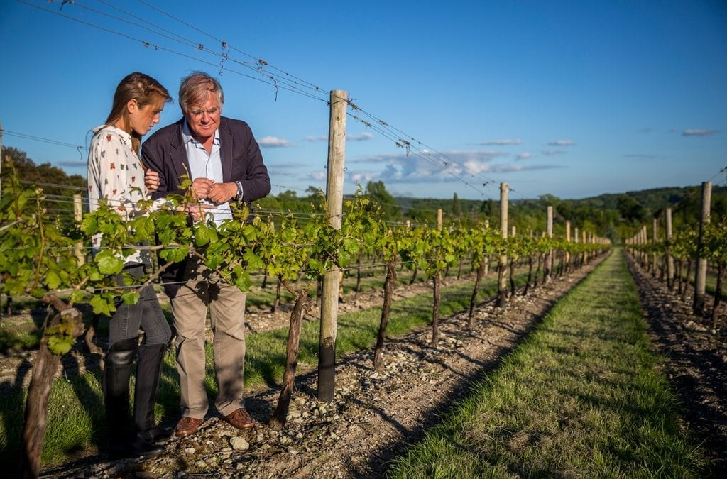 Hampshire Vineyards Add Some Sparkle