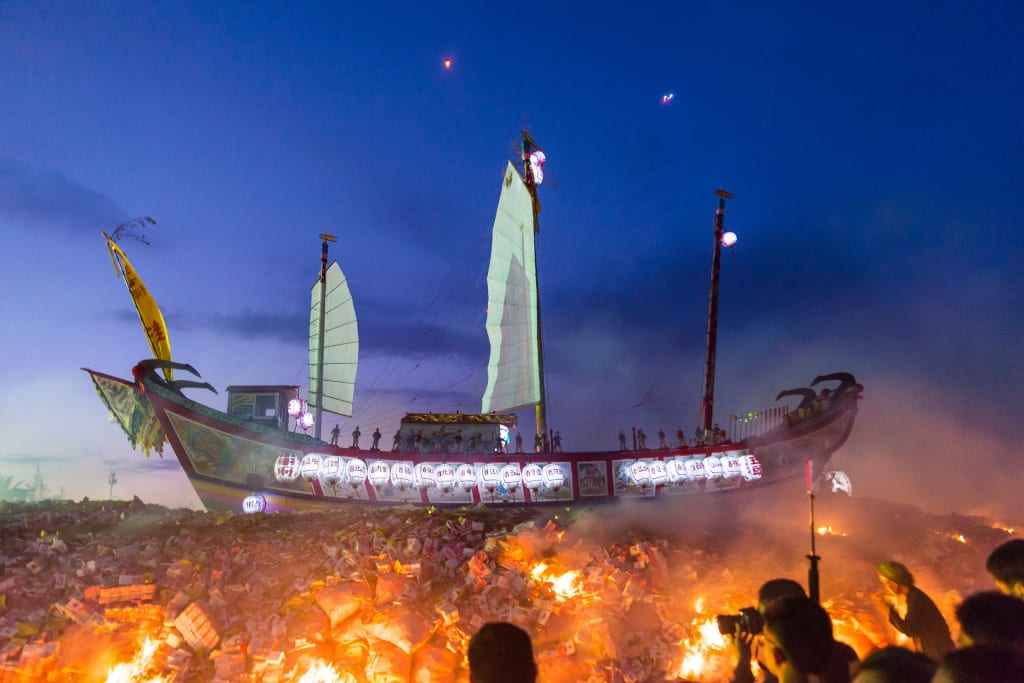 The Wang Yeh Boat Burning Festival