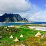 Glamping in Norway's Lofoten Islands